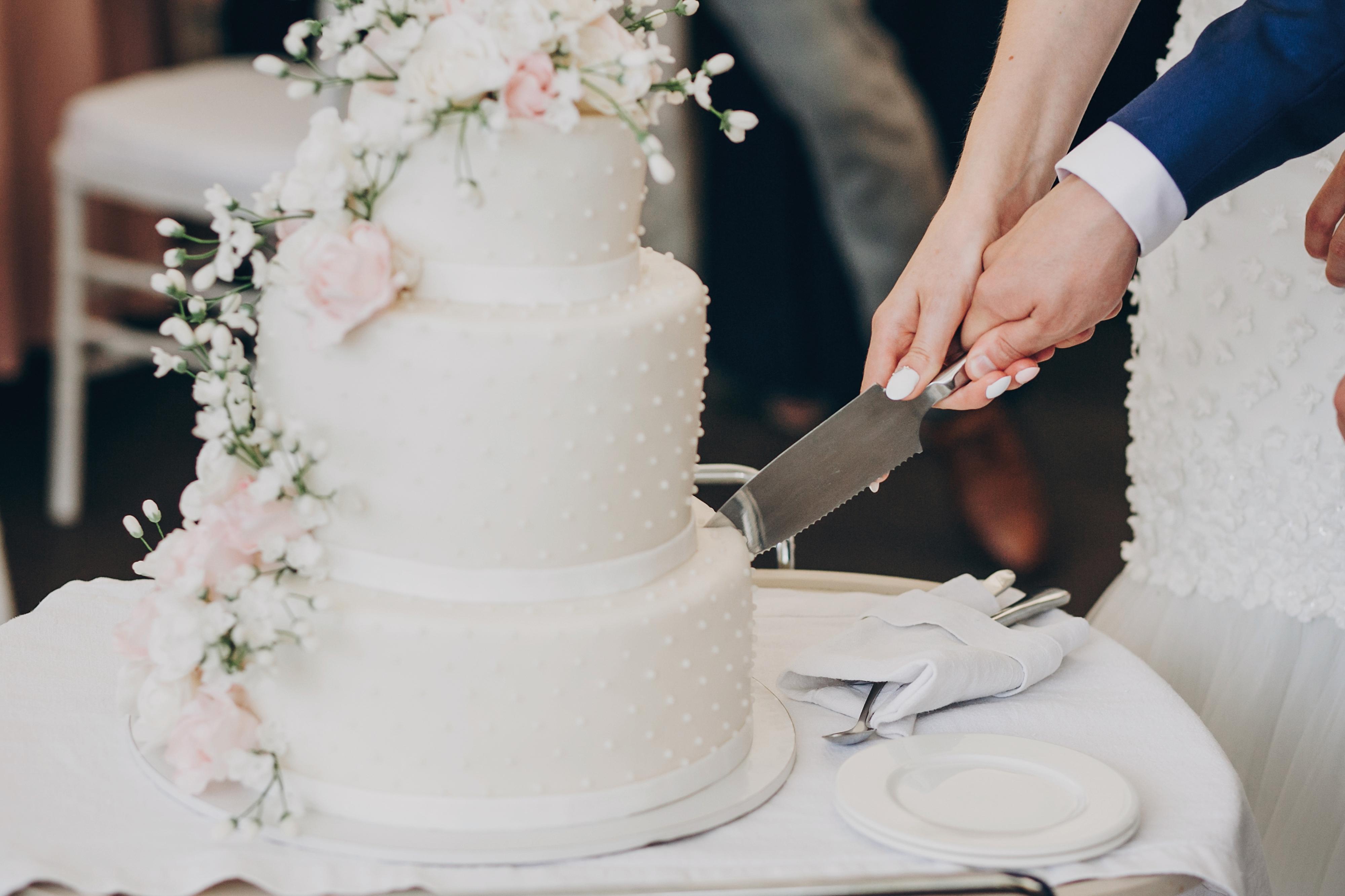 Hochzeitstorte auf Traumhochzeit.online